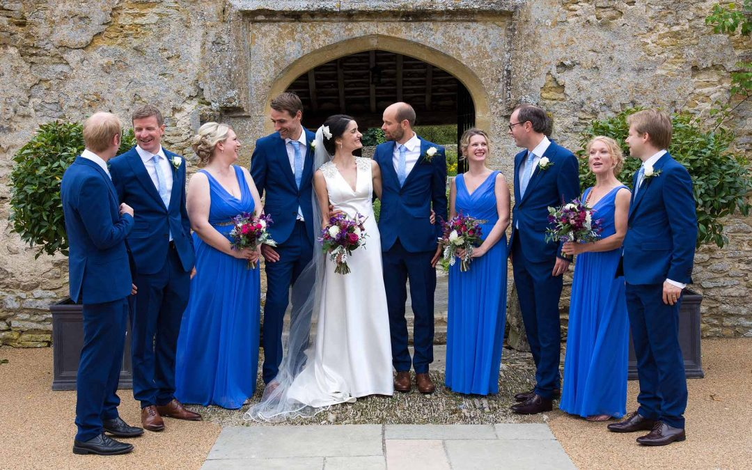 A Summer Wedding at Caswell House, Oxfordshire