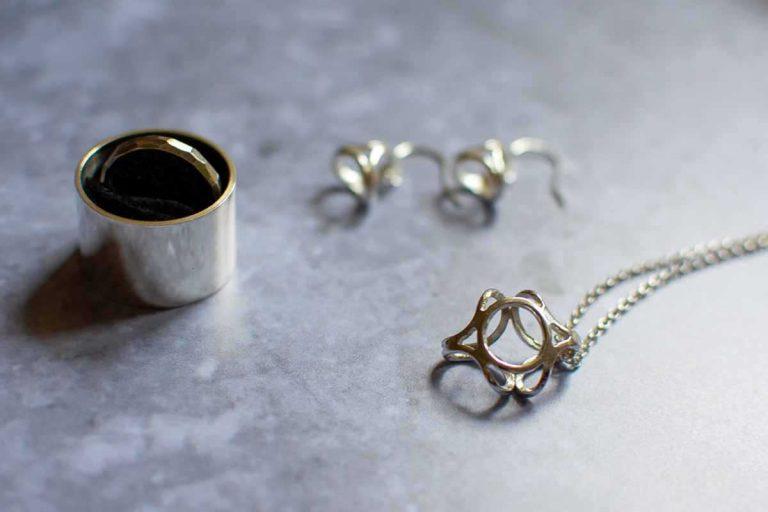 silver jewellery by Fenella Watson Designs