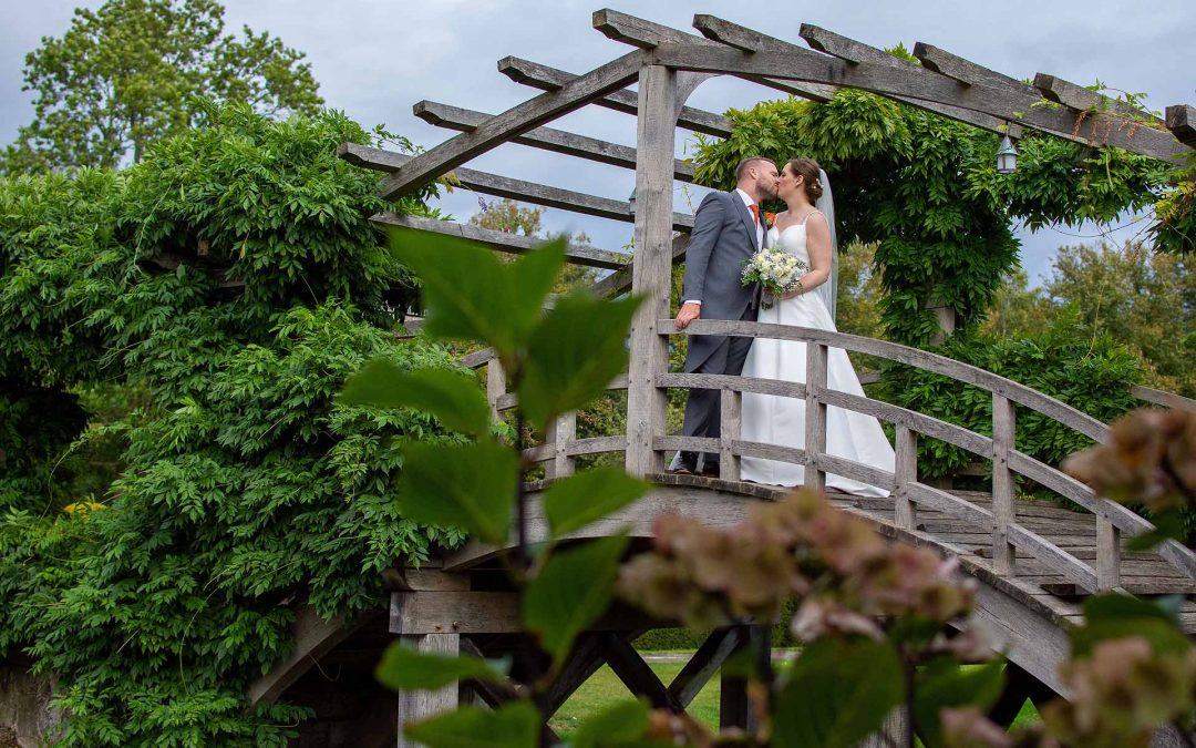 An Autumn wedding at Great Fosters, Surrey