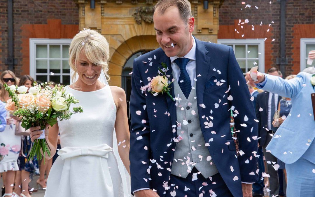 A country house wedding at Barnett Hill Hotel, Surrey
