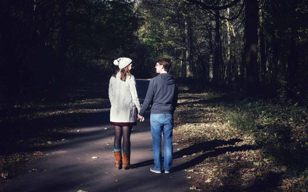 An Autumn Engagement Shoot in Wytham Woods, Oxfordshire