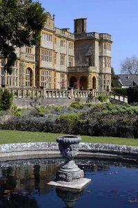 Pond at Eynsham Hall, Oxfordshire