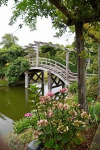 The Japanese bridge at Great Fosters