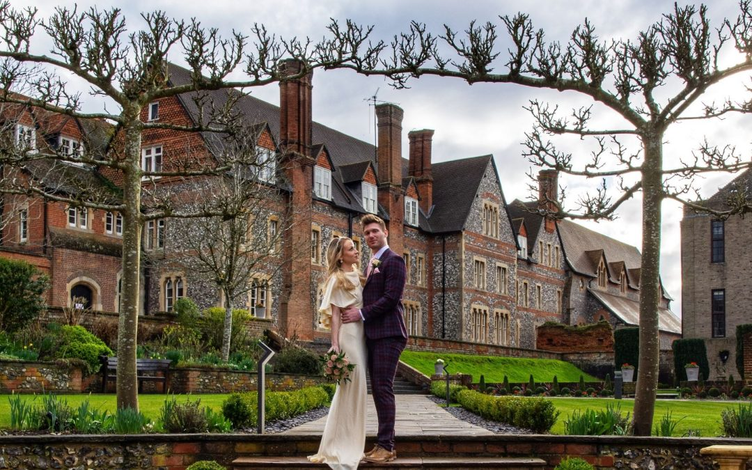 Quintessential English wedding inspiration at Bradfield College, Berkshire