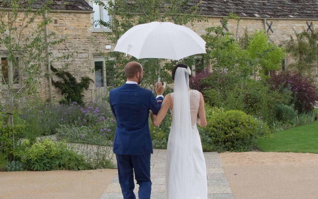 Rain on your wedding day? Don't panic!
