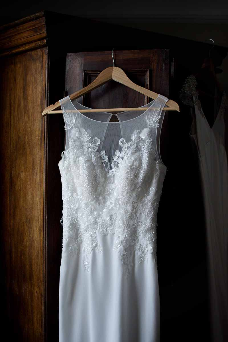 Millie Mae bridal dress with delicate lace and concealed sweatheart neckline