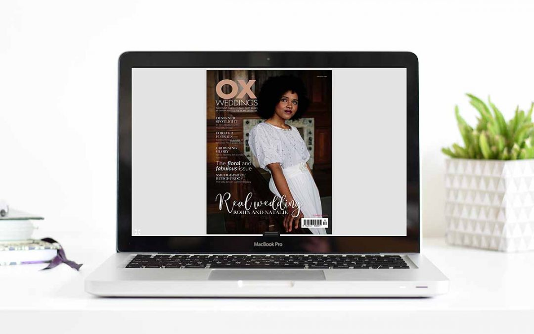 Lorna Richerby Photography featured in Ox Weddings magazine