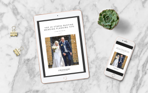 Stress busting wedding planning tips on ipad and iphone