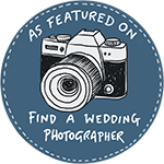 as featured on find a wedding photographer